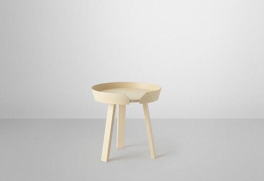 Muuto - new Nordic design - furniture - round coffee table - Around - Thomas Bentzen - muuto.com
