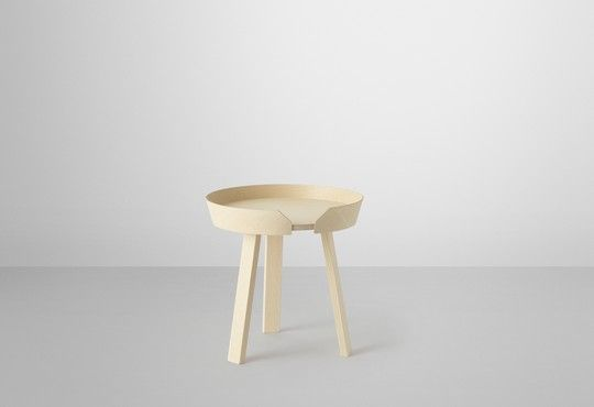 Muuto - new Nordic design - furniture - round coffee table - Around - Thomas Bentzen - muuto.com