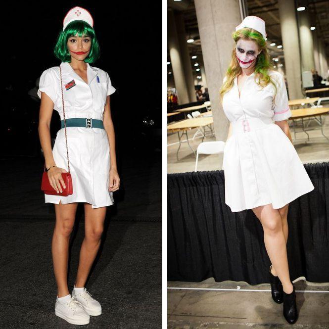 13 disfraces de halloween para mujer originales joker - Disfraz joker casero ...