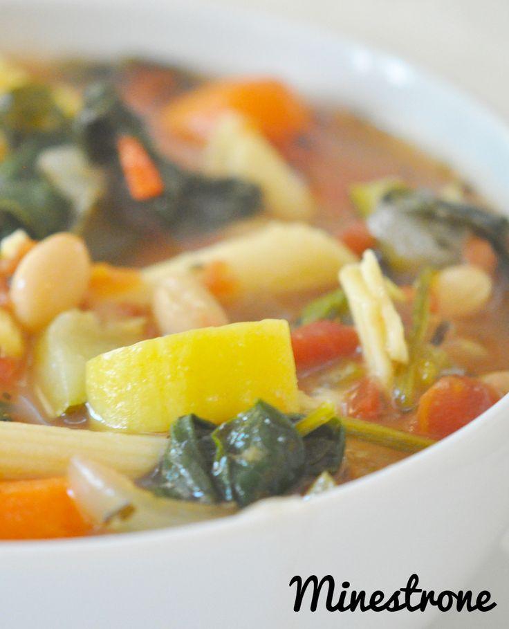 Delicious minestrone!