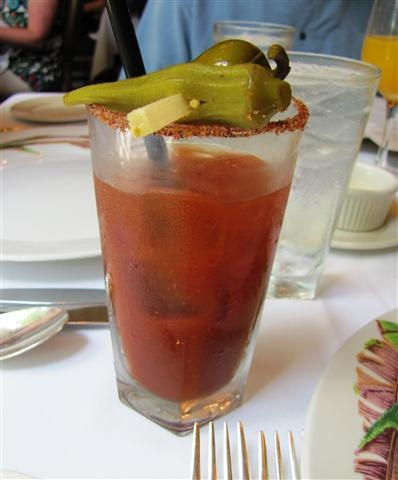 Bloody Mary, Commander's Palace