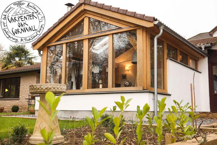 Carpenter Oak Cornwall extension