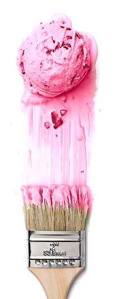Strawberry Ice Cream Paint