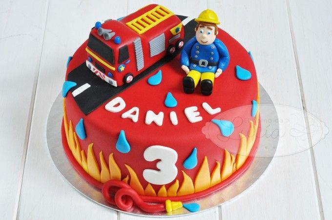 Tarta Sam el bombero