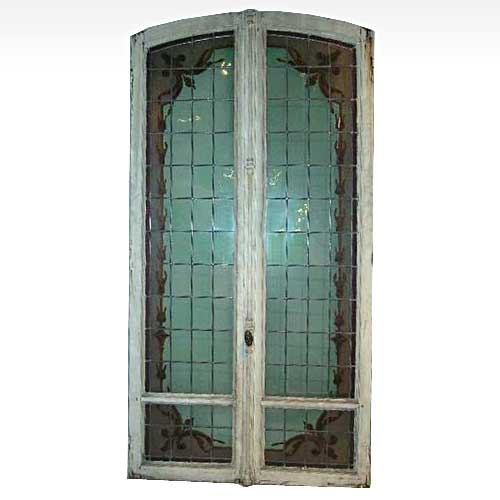 17 best images about make a statement antique doors on for Double glass french doors