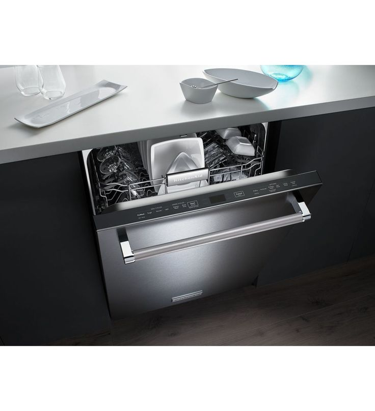 44 dba dishwasher with clean water wash system kdtm354ess