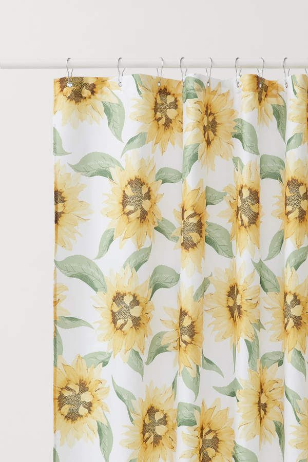Patterned Shower Curtain Shower Curtain Patterned Shower Curtain White Shower Curtain