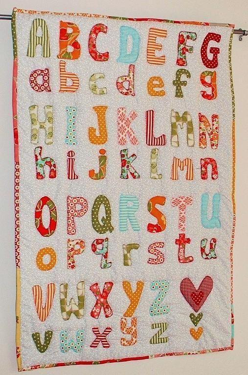 199 Best images about Alphabet quilts on Pinterest Antique quilts, Quilt and Alphabet a