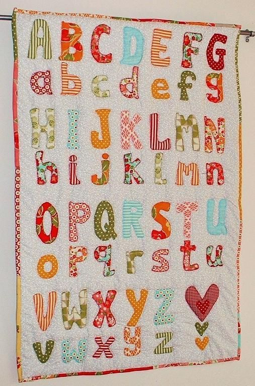 Alphabet Quilting Pattern : 199 Best images about Alphabet quilts on Pinterest Antique quilts, Quilt and Alphabet a