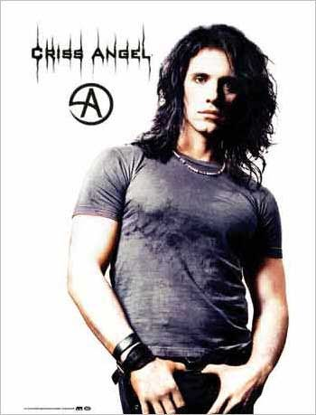 Criss Angel...God   I love this picture!