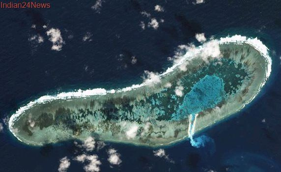 Philippine defence chief visits disputed Spratly island