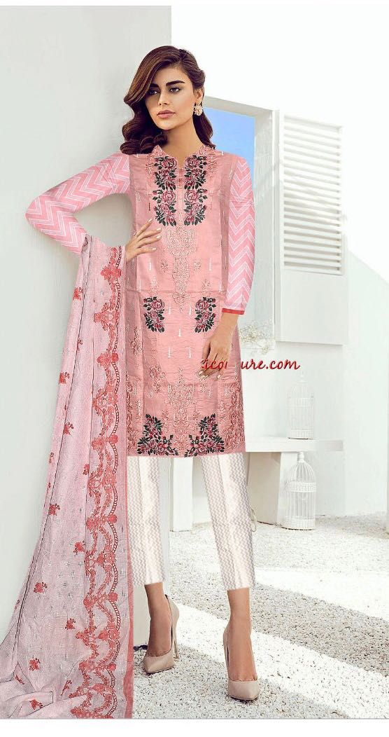 ff7529969f292 Brand Pakiza Available in lawn Master Replica fabrics!!! Front full heavy  Embroidered Daman heavy patch Soft broosha dupatta For Order:Whatapp  0300-8173320 ...