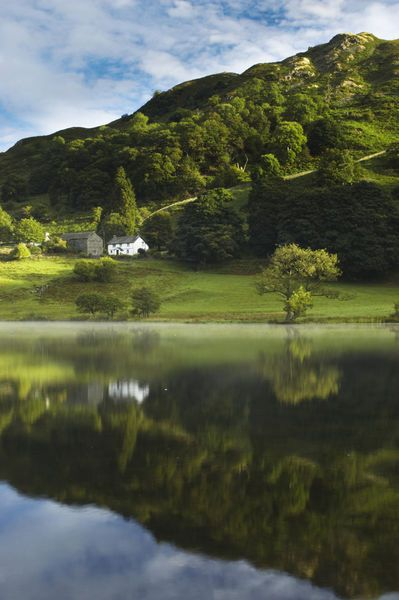 Lake District, Cumbria, England. This is where Beatrix Potter lived.