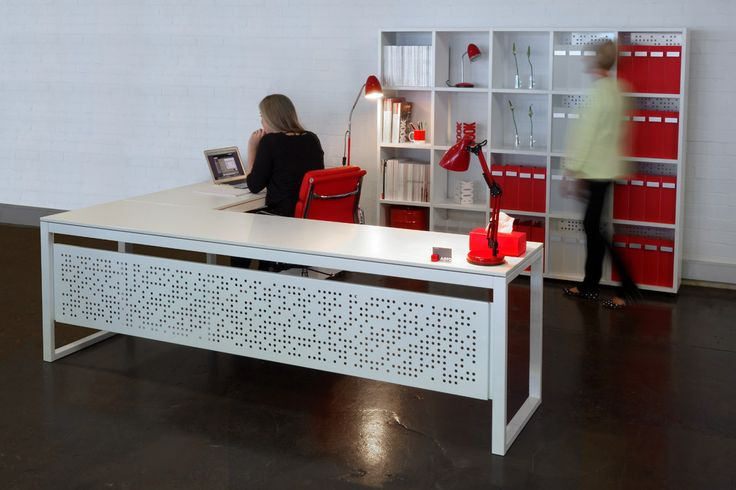 Create a home office or streamlined work space using our MD desk range to utilise your available space .   www.aerodesigns.com.au