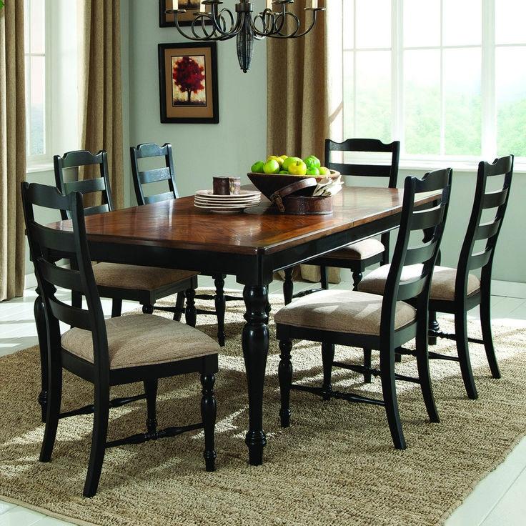 top 25+ best black dining room sets ideas on pinterest   black