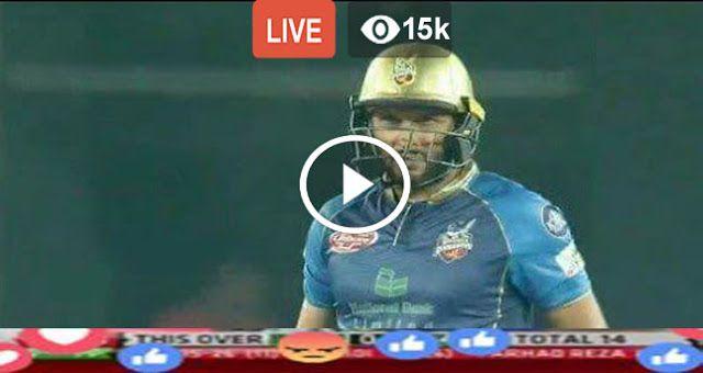 PSL 2018: Karachi Kings vs Quetta Gladiators Watch Live Match    DUBAI: The second fixture of the Pakistan Super League (PSL)  2018 wi...