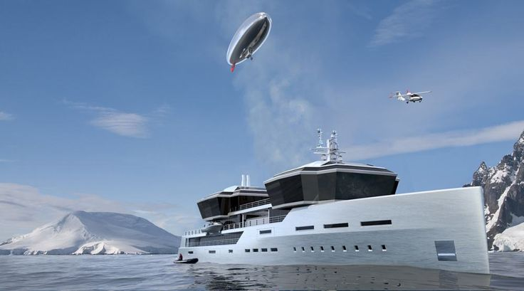 Impossible Productions Unveil A Stunning Explorer Yacht Concept - Giga yacht takes luxury oil tanker sized extreme