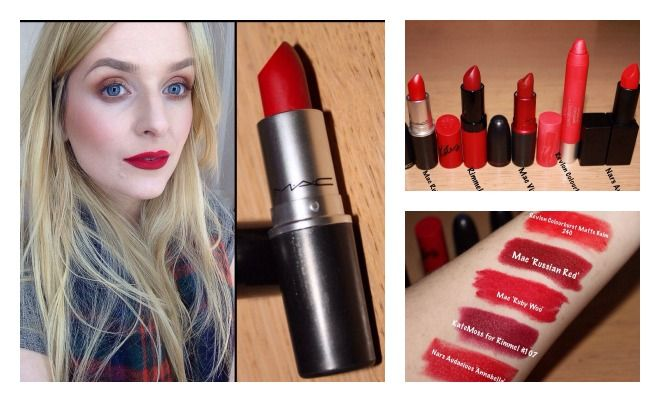 The Best Red Lipsticks by Kate McCormack