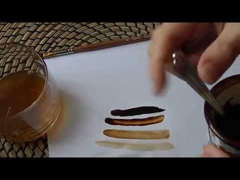 Как приготовить кофейный раствор для рисования / How to make coffee paint