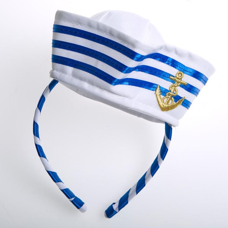 Anchor Sailor Hat Fascinator