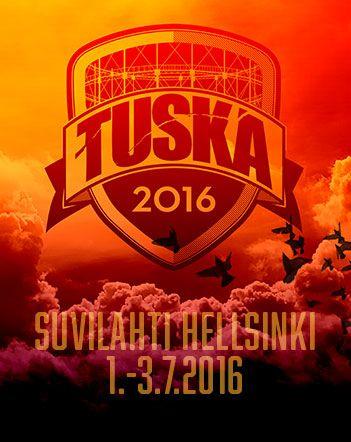 Rukouksiinne on vastattu, TUSKA2016 ensimmäiset julkistukset ovat nyt tulleet!   #Behemoth, #Tsjuder, #Ghost, #Stam1na, #Diablo, #CattleDecapitation ja #Myrkur nähdään Suvilahdessa heinäkuussa. Kolmen päivän TUSKA2016 Early Crow -liput sekä VIP-paketit myynnissä nyt lippu.fi!