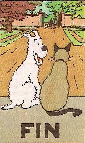 Fin - Tintin