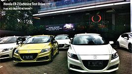 Honda CRZ Media TestDrive - Bandung