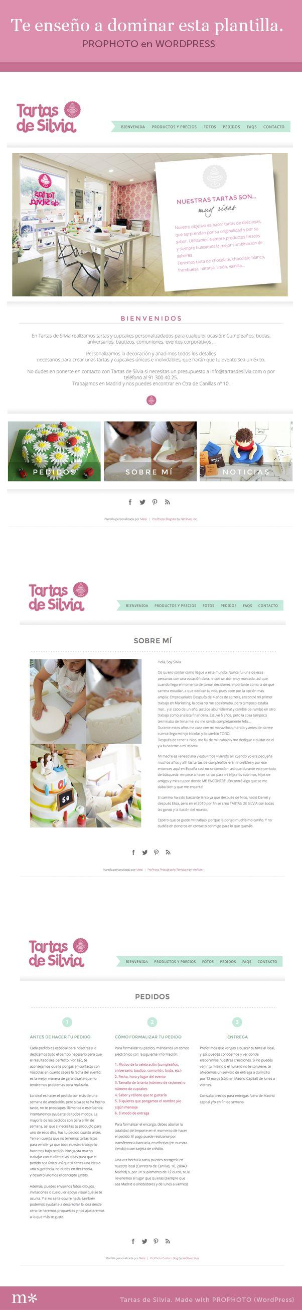 Curso online sobre la plantilla ProPhoto, una plantilla super versatil para crear una página web. http://meisicursos.com/cursos/disena-en-prophoto-general/  #cursos #diseno #disenoweb #prophoto #cursosonline