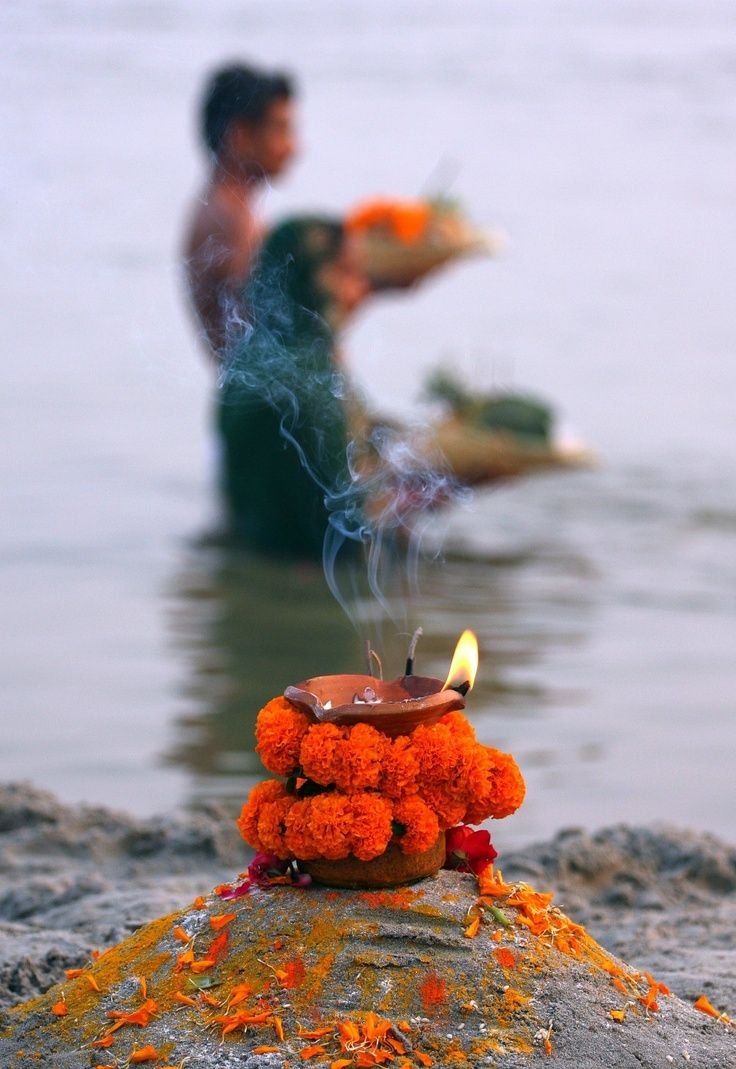 Invocation and Prayer ☽ Navigating the Mystery ☽ Prayers on the Ganges