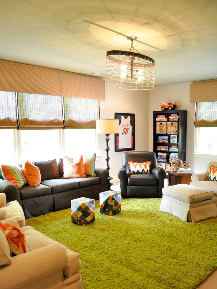 Game rooms are great if you have kids! Check out these kid-friendly game room design ideas from HGTV.com to create the perfect spot for family time.