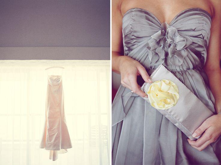 design for bridesmaid dress: Gray Bridesmaid Dresses, Grey Wedding, Grey Yellow, Grey Bridesmaid Dresses, The Dresses, Cute Bridesmaid Dresses, Second Wedding, Grey Dresses, Gray Dresses
