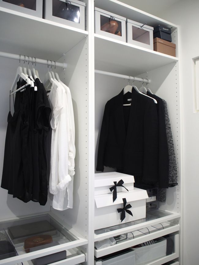 Kuistin kautta: Walk in closet