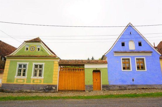Criț traditional houses