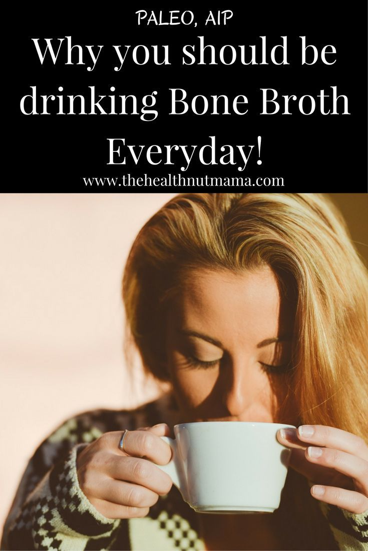 Do you know why you should be drinking this amazing drink Everyday! If you have leaky gut or autoimmune disease, you need to be drinking it! Great for Hair, Nails, Cellulite too! AIP, Paleo www.thehealthnutmama.com