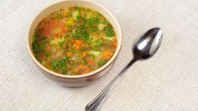Mäsová polievka so zeleninou