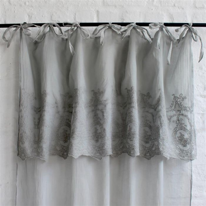 Grey Violet Curtain
