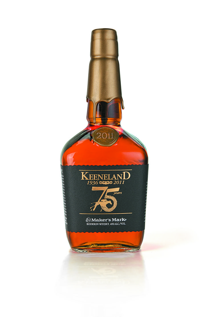 The 2011 maker s mark mile commemorative makers mark bottle honoring keeneland race course in commemoration of its anniversary now on sale and here is
