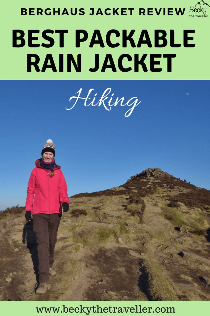 Looking for a new lightweight and waterproof jacket for hiking? Read my Berghaus Paclite jacket review for an honest opinion of this jacket. Includes why I think it is the best lightweight waterproof jacket, plus an adjustable hood and how it makes a great packable rain jacket. Berghaus womens waterproof jacket | Hiking jackets | Hiking clothes | Waterproof ladies jackets | Berghaus review | #hiking #berghaus