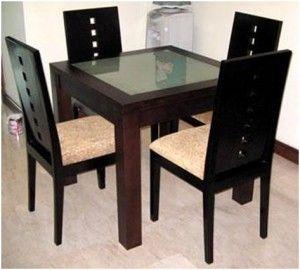 Kursi Makan Minimalis Kaca | Alfah Furniture