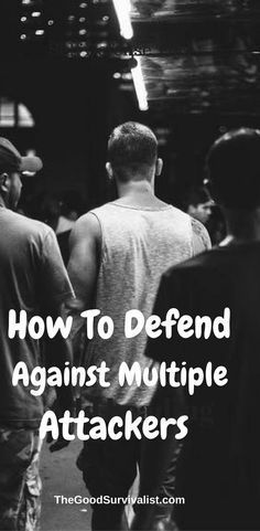 Self Defense Tips-Here are some brilliant self defense moves for defending against multiple attackers. http://www.thegoodsurvivalist.com/how-to-defend-yourself-against-multiple-attackers-this-is-brilliant/ #selfdefensetips #selfdefensemoves