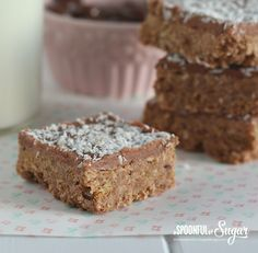 Easy Weetbix Slice Recipe - A Spoonful of Sugar