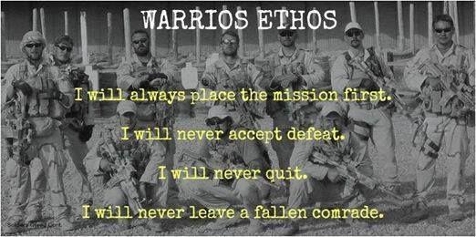 warrior ethos army essay