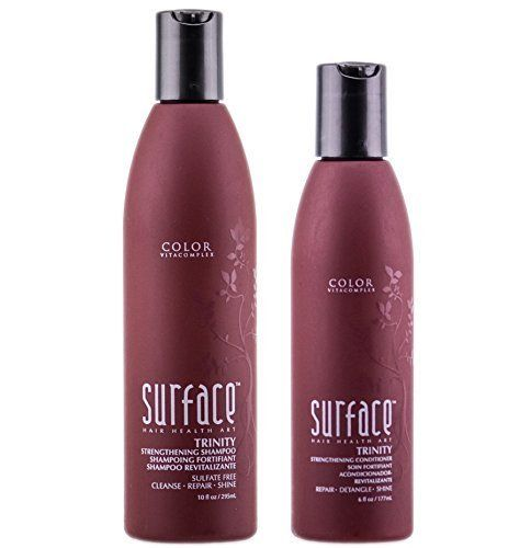 Surface Trinity Strengthening Shampoo 10oz  Conditioner 6oz DUO >>> Want to know more, click on the image.(This is an Amazon affiliate link and I receive a commission for the sales)