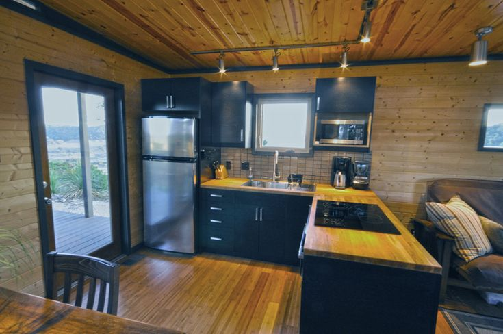 Modern cabin 14x20 14x16 small accessible house for 14x16 living room