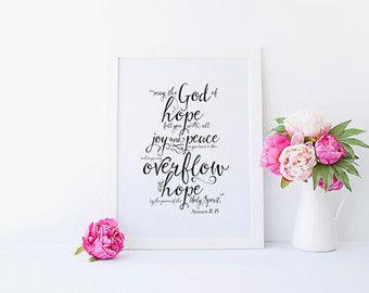 romans 15:13 – Etsy UK