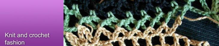 knit and crochet fashion