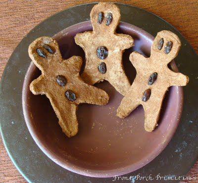 Gingerbread men tutorial