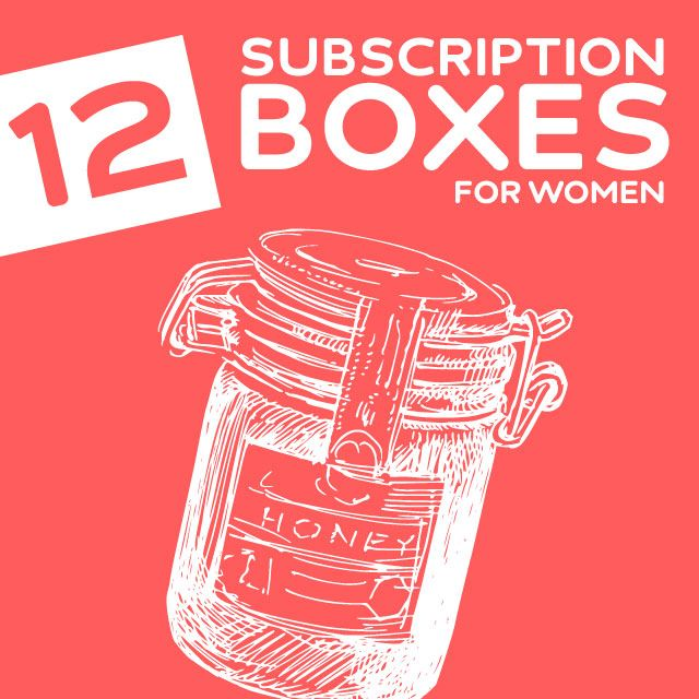 "12 ""Girly Scream"" Worthy Subscription Boxes for Women- I am so addicted to these! It's like Christmas morning every time I get one in the mail."