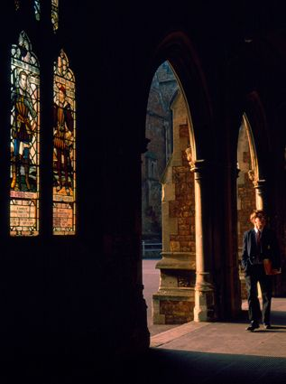 Clifton College cloisters. by Mark Draisey Photography, via Flickr