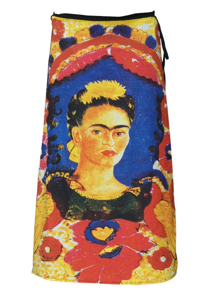 Art Wrap Skirt The Frame